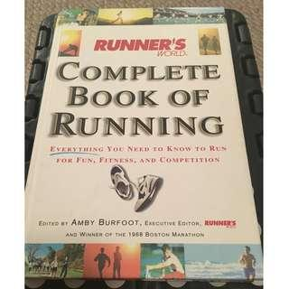 Complete Book of Running Edited by Amby Burfoot