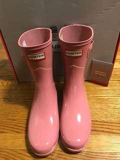 Brand New Pink Hunter Boots