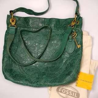 [RARE & LENGKAP] - Fossil Rare Embossed Emerald - NETT!! NO NEGO