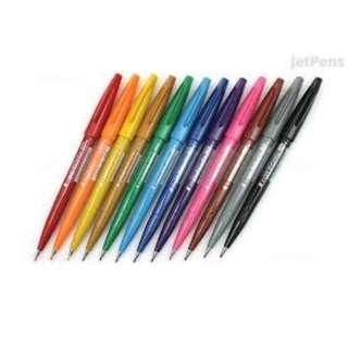 pentel fude touch brush pens