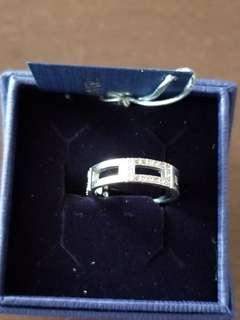 Authentic Swarovski Ring size 6.5