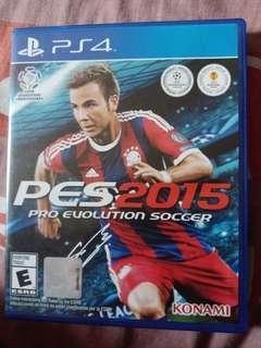 PS4 GAMES PRO EVOLUTIO SOCCER 2015