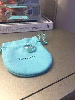 Tiffany Heart Ring - Size 7