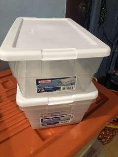 Sterilite shoe box (5 in stock) 80 each