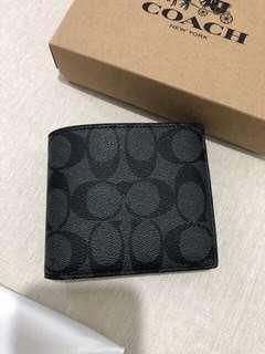 coach wallet men authentic / dompet cowok original