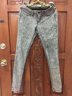 Acid wash Forever 21 pants