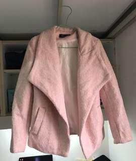 🚚 粉色西裝外套