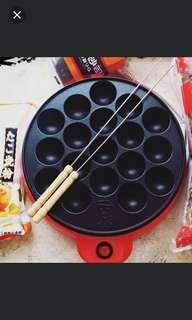 New takoyaki cooker