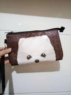 Cute dog pouch