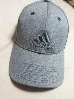 Gray Adidas Melange Cap