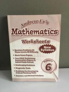 P6 math by Andrew Ed's