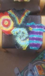 Tye dye stretch and grows