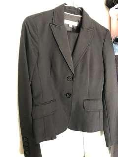Anne Klein skirt suit. Worn once. Size 0