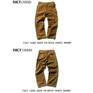 FUCT SSDD Duck Painter Pants
