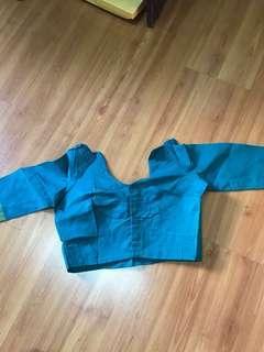 Saree blouse green