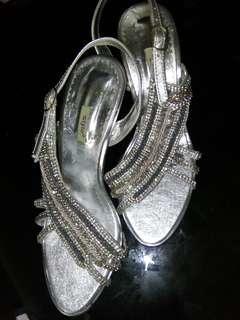 Silver Shoe size 6