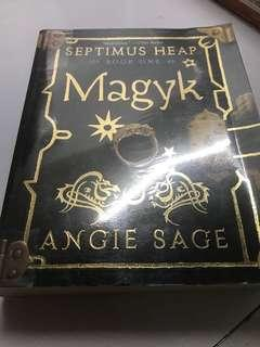 Septimus heap book 1 MAGYK by Angie sage