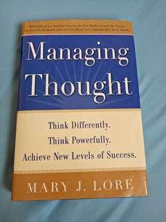 Managing Thought by Mary J. Lore