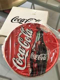 Coke coasters vintage