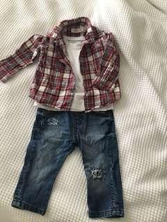 Trendy boys outfit 3 piece