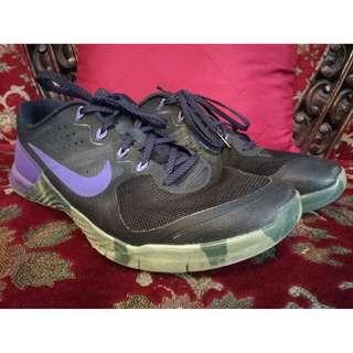 Nike Metcon 2 Black / Fierce Purple Crossfit Shoes US 10