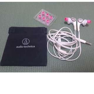Audio-Technica ATH-CKS770is Solid Bass In Ear Headphones (White)