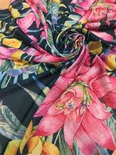Jilbab Voal Printing