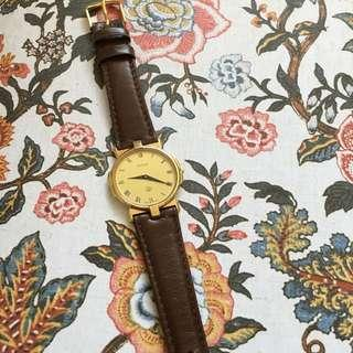 GUCCI Unisex 3400M Wristwatch Gold-plated Case - Vintage