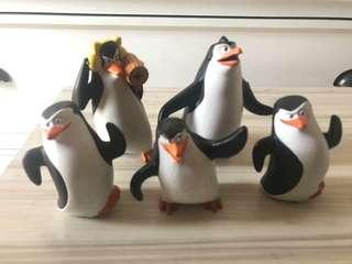 Penguins and Smurfs Collectibles