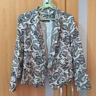 Maldita printed blazer