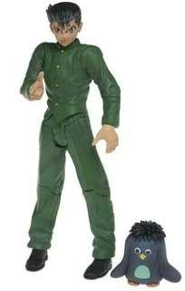 Yu Yu Hakusho Ghost Files Yusuke with Puu Action Figure