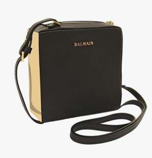 BALMAIN Pablito Shoulder Crossbody Bag in Black - RRP $1200+