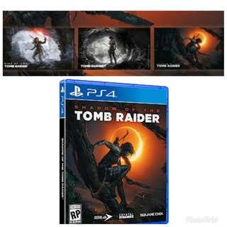 (Includes 3 Art Cards) Shadow of TOMB RAIDER (PS4)