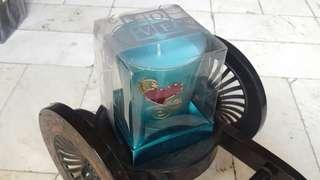 Scented candle- Blue