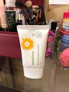 Innisfree spf 35 daily uv protection cream