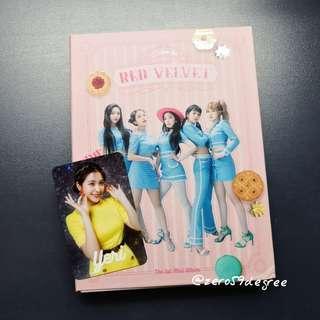 Red Velvet Cookie Jar Japanese Album