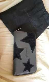 Kendall x Kylie Handbag Star Wallet Black and Grey