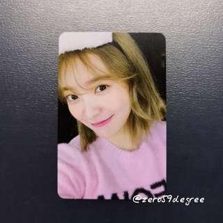 Red Velvet Bad Boy Yeri Photocard