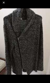 #H&M50 H&M Men Overlap Knit Jacket