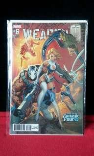 Weapon H #6 Campbell Variant