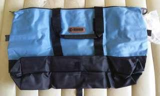 全新未開封 手提 斜孭 厚身 翠明假期 旅行袋 環保袋 可摺疊