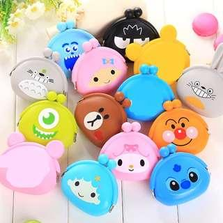 🚚 Children's Day Gifts! Cute cartoon characters coin pouch for $2 only!!! Buy 10 or more @ $1.50 per pc only!!!