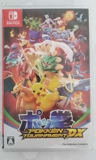Switch遊戲 Pokemon拳Tournament Dx 連虎之卷特典