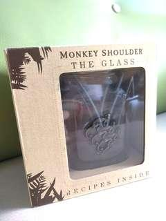 Monkey shoulder 杯 glass cup blended malt scotch whisky