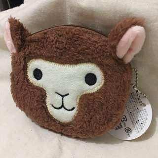fluffy 草泥馬 拉鍊包