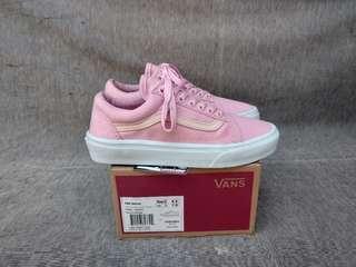 Vans Oldskool Pink White