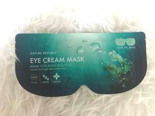 Aqua Collagen Solution Marine Hydrogel Eye Mask