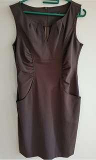 Cache Cache Brown dress