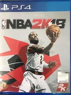 PS4 game NBA 2K18 and PES 2016
