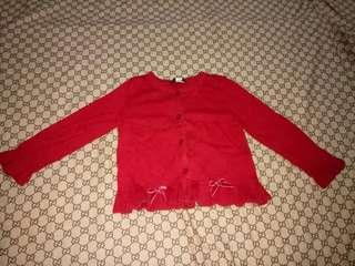 Place Knitted Cardigan for girl(Size 2-3y/o)
